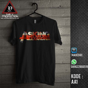 Kaos Asking Alexandria AA1