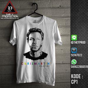 Kaos Coldplay CP1