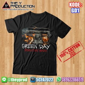 Kaos Green Day – GD1
