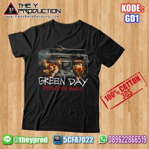 Kaos Green Day – GD1