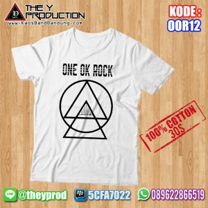 Kaos One Ok Rock – OOR12