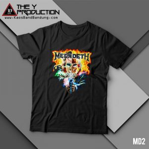 Kaos Megadeth – MD2