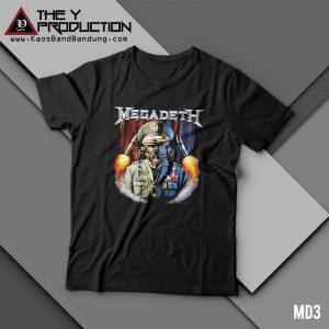 Kaos Megadeth – MD3