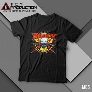 Kaos Megadeth – MD5
